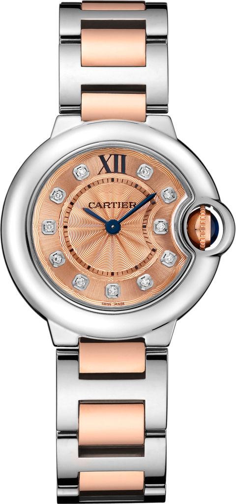 Часы, Chopard, коллекция Imperiale, стальной корпус инкрустирован бриллиантами, кожаный ремешок, цена по запросу. Салон Classic Time ТК «Гостиный Двор».