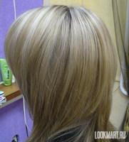 Как делают мелирование на короткие волосы фото