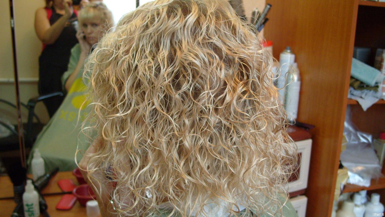 Карвинг на обесцвеченные волосы в домашних условиях