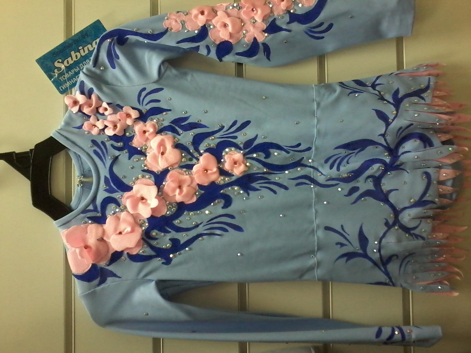Купить Купальник с юбочкой для выступлений художественная гимнастика НОВЫЙ  в Новосибирске - Я Покупаю 42544f21d0d7e