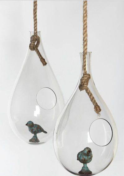 Стеклянный свисающий пузырь, 45 см, Ecoglass, Франция, 9164 руб.